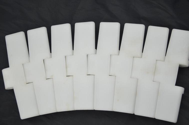 Hygienic Design Single Hinge Plastic Flat Table Top Chain