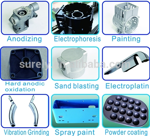 Small Household Electrical Aluminum Alloy Casting Process of Mixer Parts