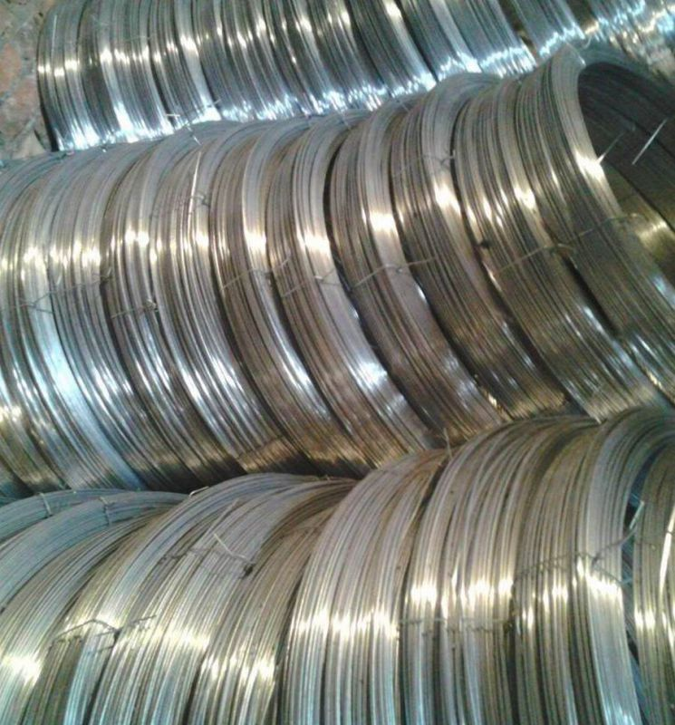 High Tensile Galvanized Oval Steel Wire