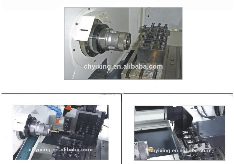 3-20mm (Collet) , 100mm (Chuck) Diameter, Shanghai CNC Lathe Machine for Sapre Parts