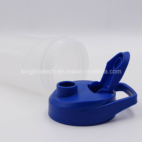 700ml New Design Plastic Protein Shaker Bottle with Blender Mixer Ball (KL-7038)