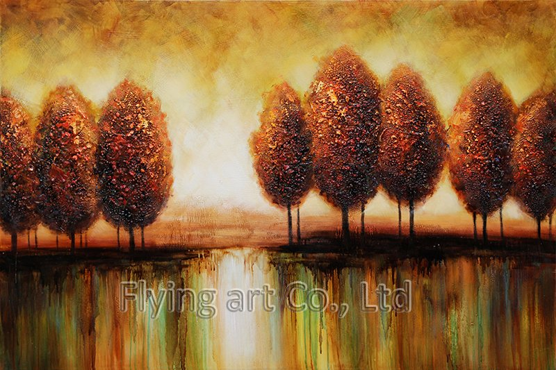 Abstract Oil Painting for Trees (ZH4260)