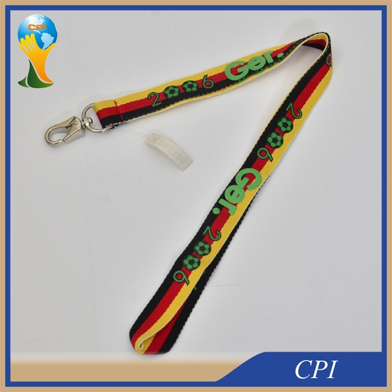 Football Promotion Gift Lanyard Sport Card Lanyard