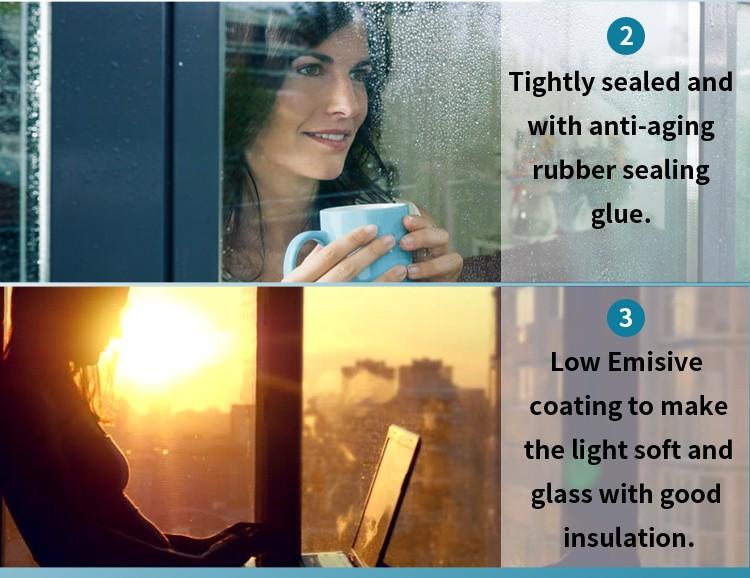 Safety Triple Glazing Glass