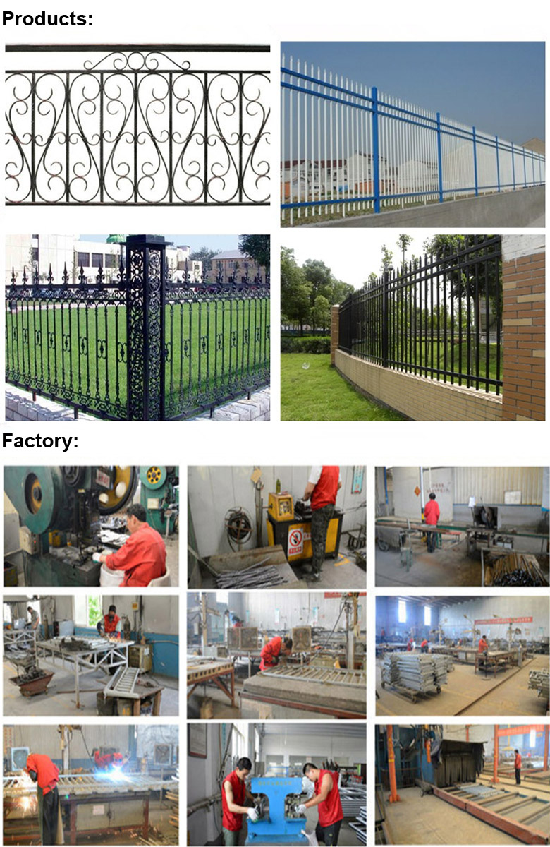 Superior Quality Wrought Iron Guard Fence