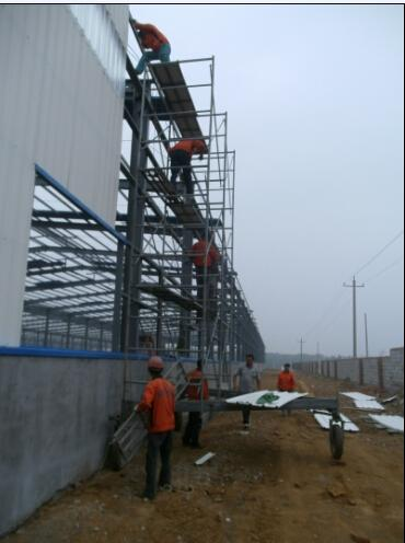 Steel Structure Industrial Processing Workshop (KXD-SSW1456)