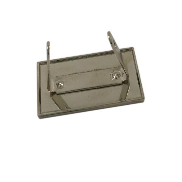 Bags Accessory Custom Engraved Metal Logo