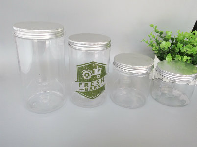150ml Plastic Cosmetic Cream Jar with Label Made in Yuyao
