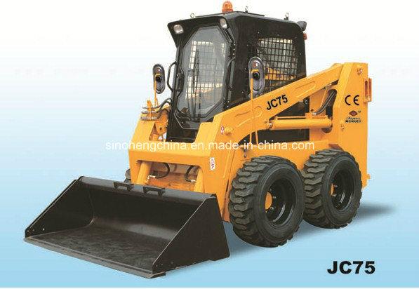 Mini Skid Steer Loader, Mini Digger with CE Jc75