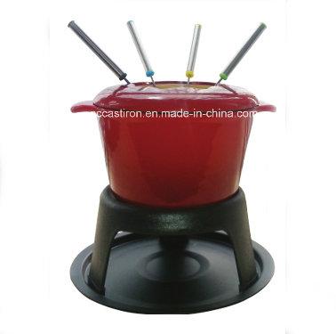 OEM ODM LFGB Ce FDA Cast Iron Fondue Manufacturer From China