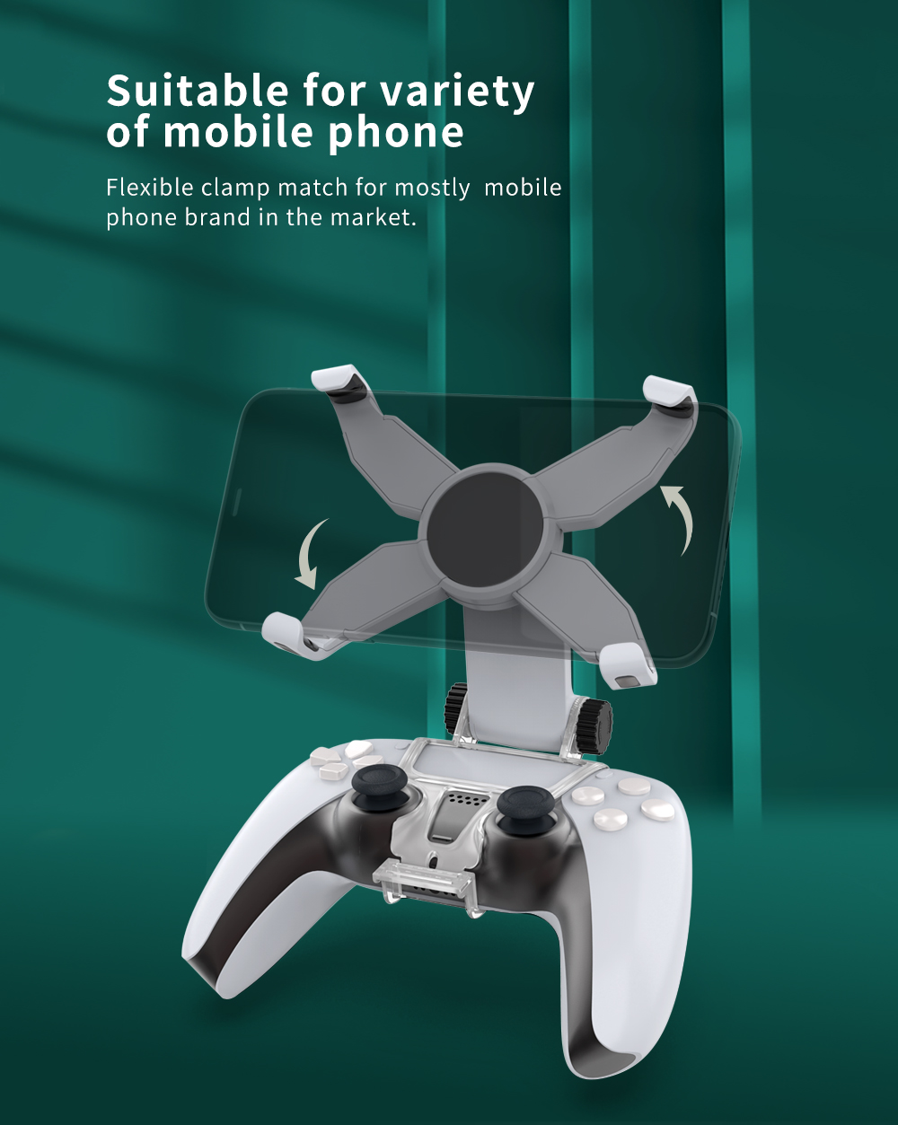 Mobile Phone Clamp