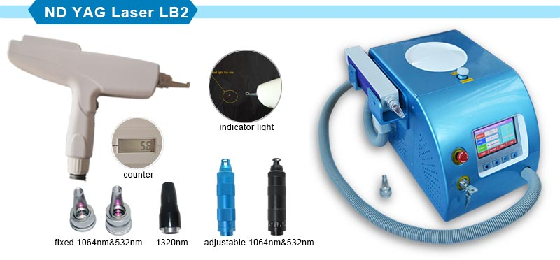 1 Million Shots Q-Switch ND YAG Laser Nevus Removal