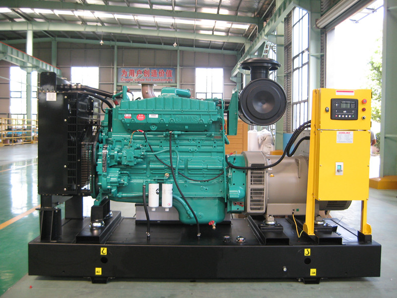 313kVA/250kw Open Type Cummins Diesel Generator with Ce/ISO