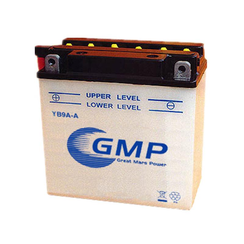 High Capacity 12V 9ah Yb9a-a Lead Acid Battery for Motorcyle