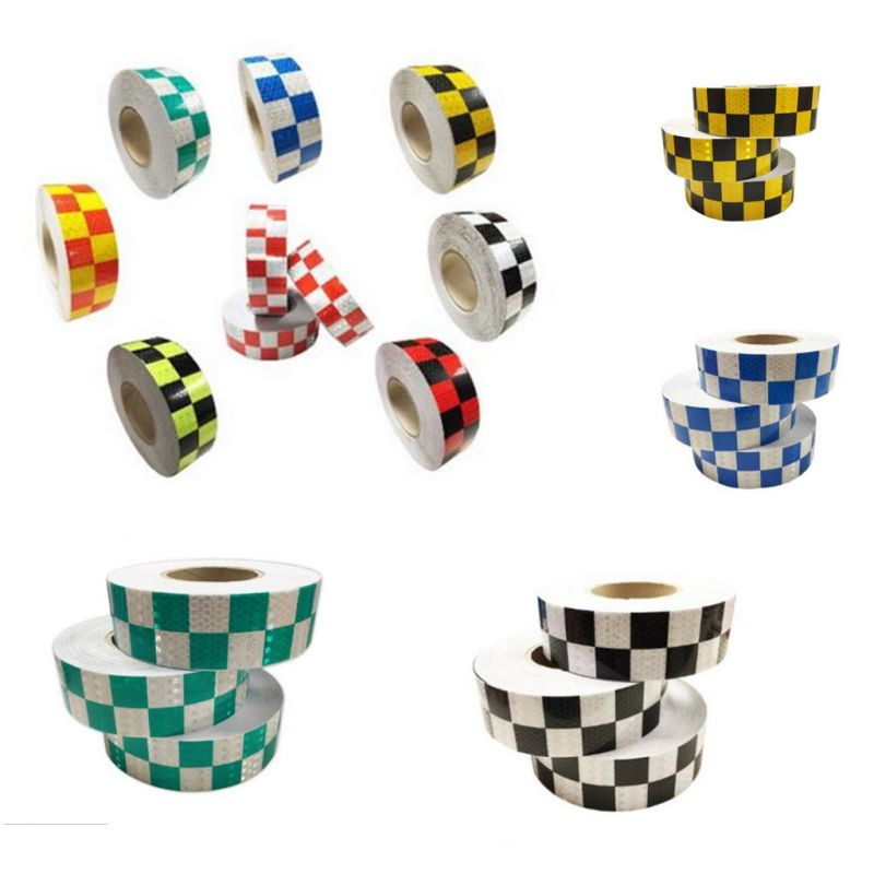 Crystal Lattice Grid Design Reflective Conspicuity Tape for Traffic Signs