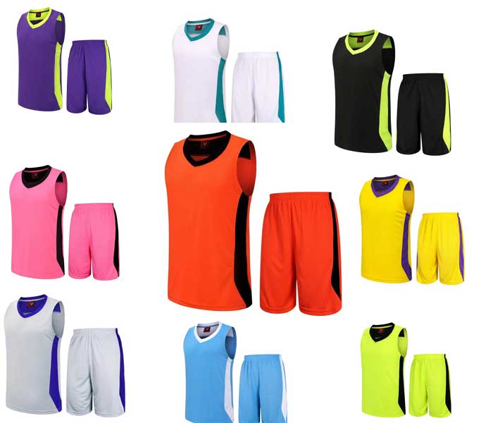 New Style Sport Wear Wholesale Cheap Reversible Basketball Uniforms