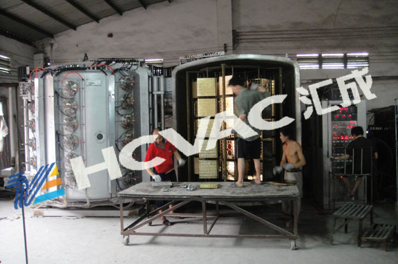 Ceramic Tiles Gold PVD Coating Machine, Ceramic Tiles Vacuum Coater
