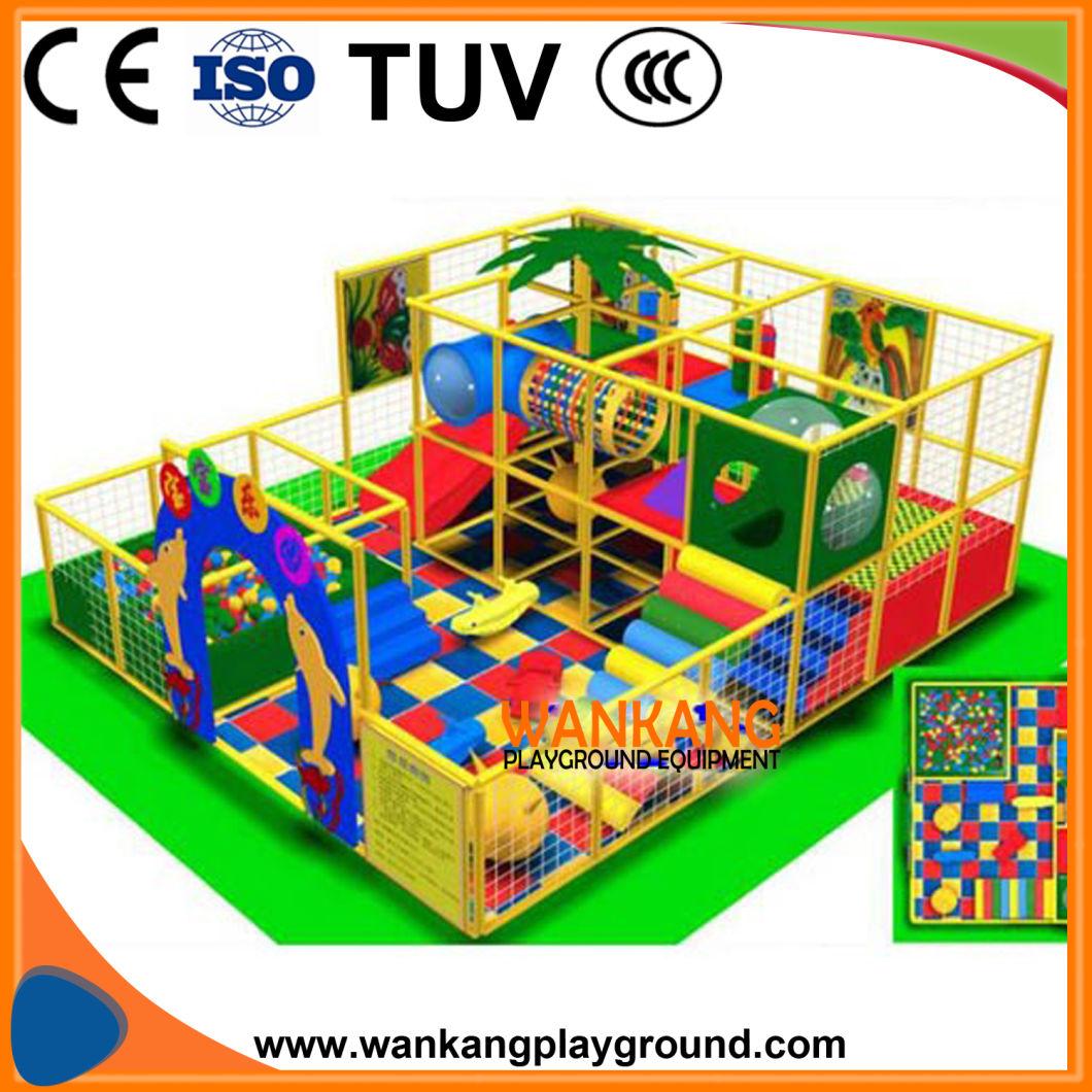 Children Soft Toys Indoor Play Center (WK-E180615)