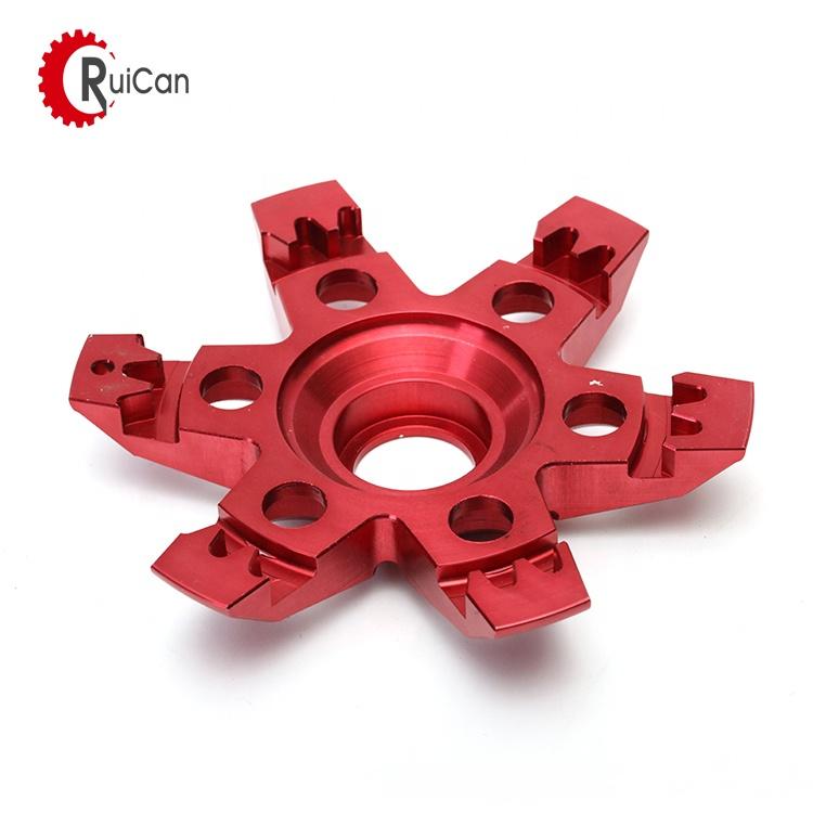 OEM customized investment casting advance auto autozone parts aluminum cnc machining car parts with anodising wheel hub