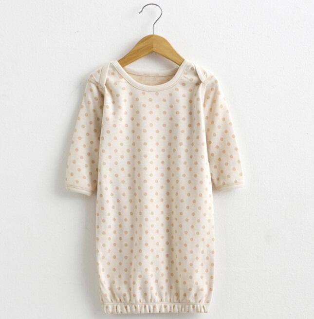 Organic Cotton Lovely Baby DOT Printed Pajamas