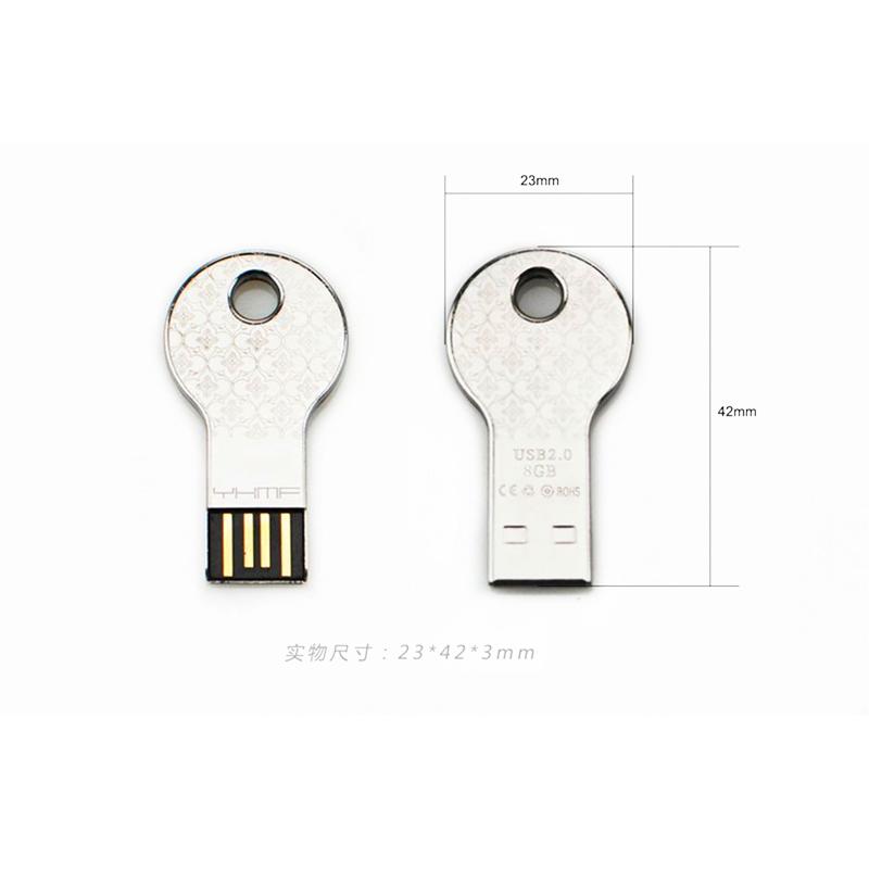 Key Shape USB Flash Pen Drive