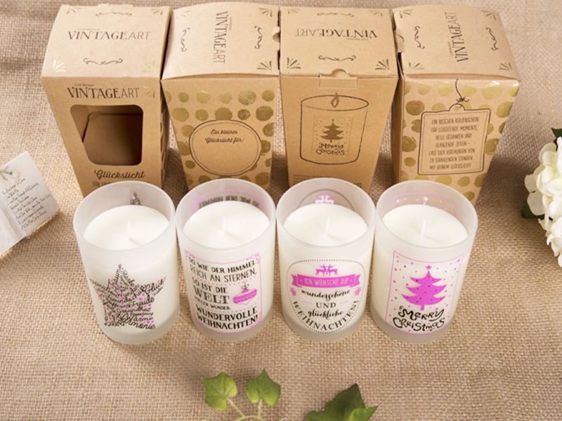 Safety Natural Scented Travel Handmade Candle
