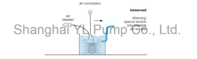 Mini Ss 304 Air Pneumatic Membrane Pump for Fruit Juice
