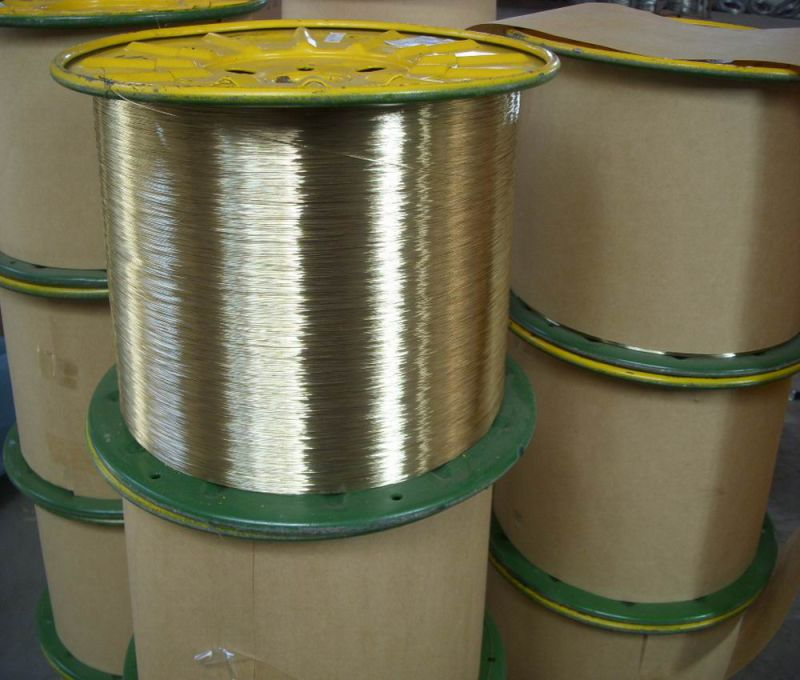 0.28mm Brass Coated Steel Wire to Woven Coal Industry Hose