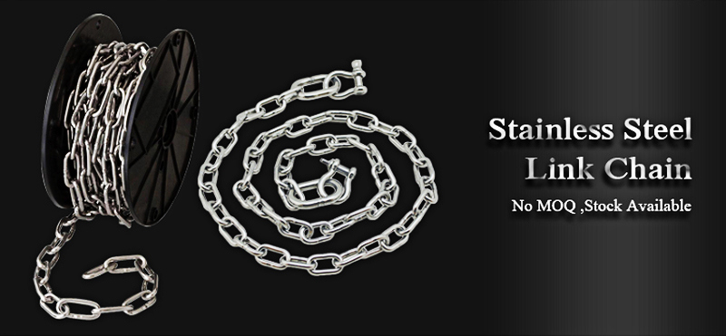 Surface Polished Rigging Parts Chain Link with DIN766 Standard
