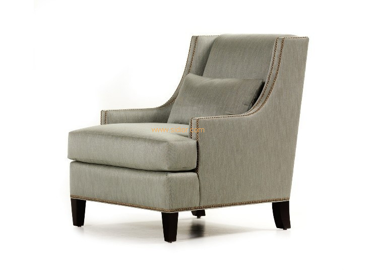 (CL-2227) Wooden Fabric Hotel Chair with Arm for Hotel Furniture