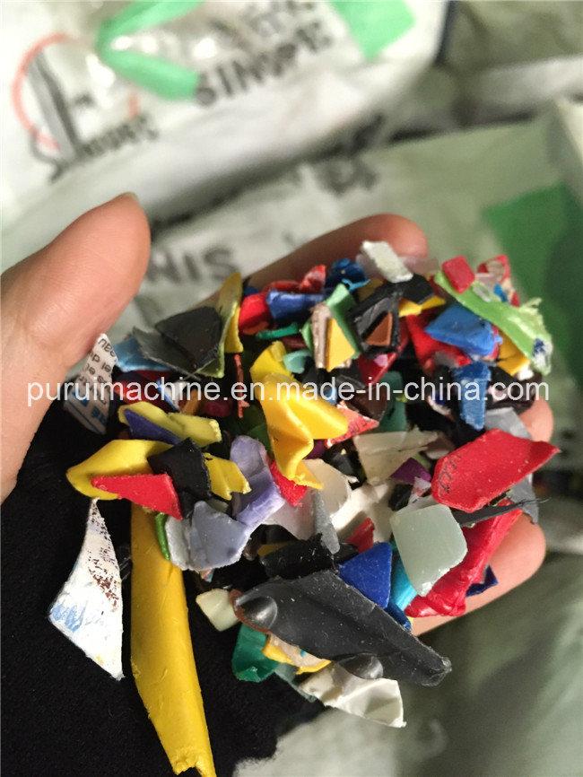 Plastic Granulating Machine for PP Bottle Regrind Flakes