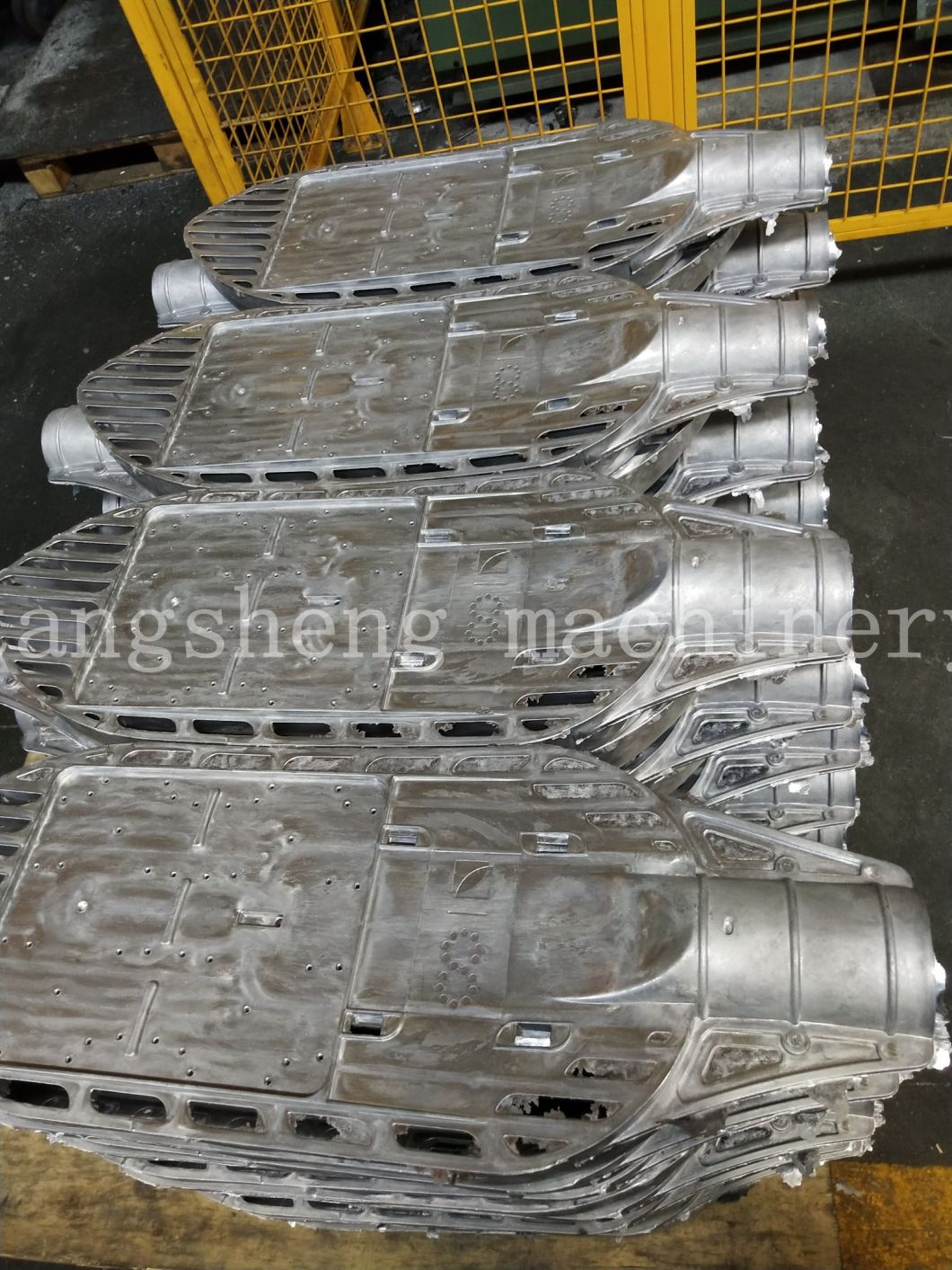 Supply Vacuum Pumping Aluminum Die-Casting Baking Tray and Open Die-Casting Mold, Aluminum Pan of Various Sizes