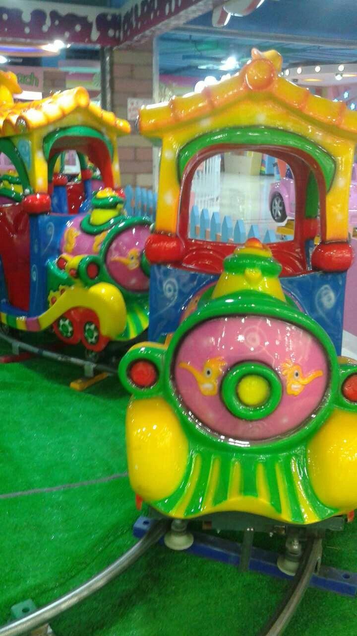 Amusement Park 16 Seats Kids Electric Train for Sale
