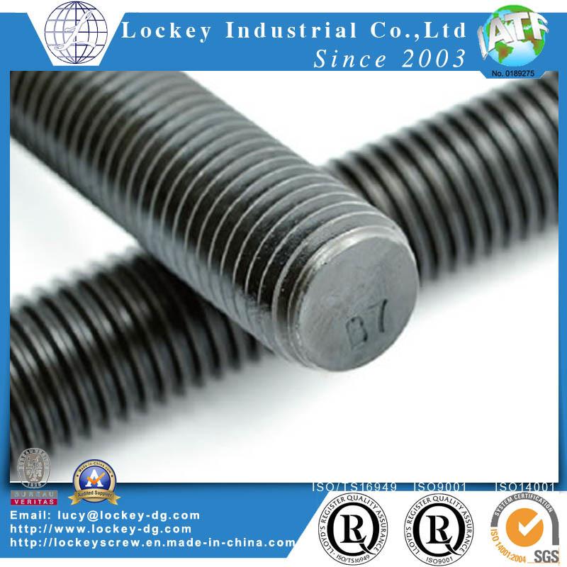 Alloy Steel / Steel Thread Rod Stud Bolt Thread Bolt B7 B7m