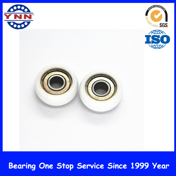Non-Standard White Plastic Coated Deep Groove Ball Bearings