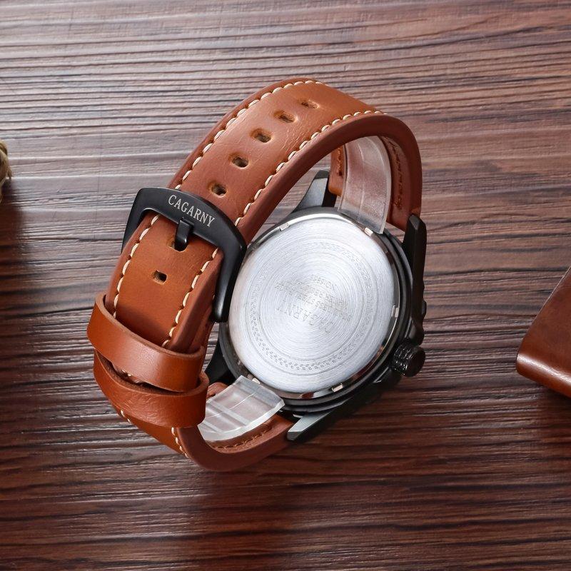 Luminous Wristwatch 4.6mm Case Sizebig Hands Unisex Wear