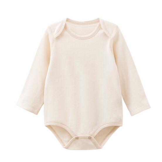 Organic Cotton Baby Long Sleeve Romper
