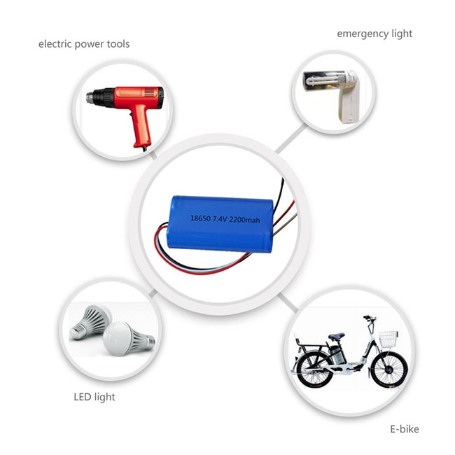 Rechargeable 18.5V 25.9V 33.3V 5200mAh 20ah 18650 Li-ion Battery Pack for Toys/LED Lights/Power Tools