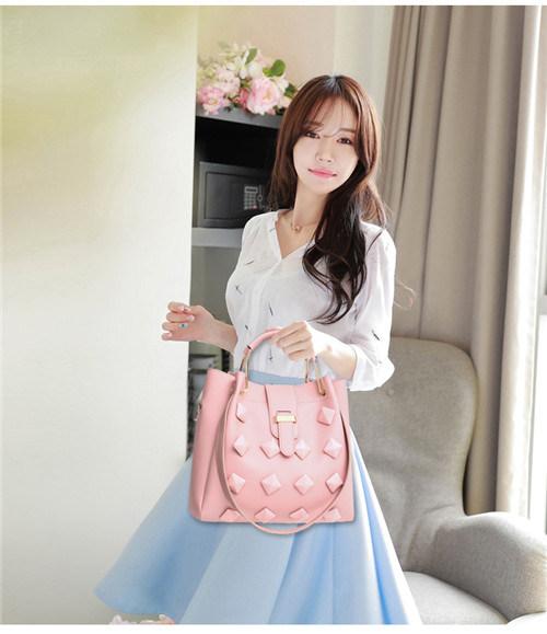2018 New Wholesale Women Handbag Set Leather Bags Lady Handbag