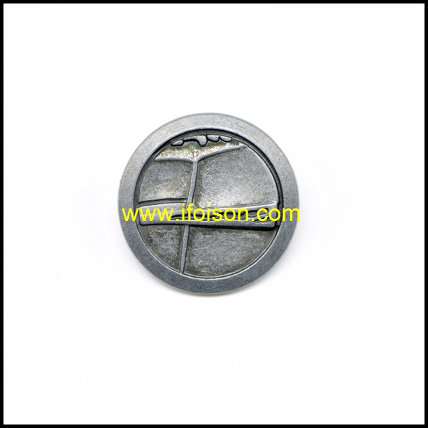Metal Shank Button for Coat