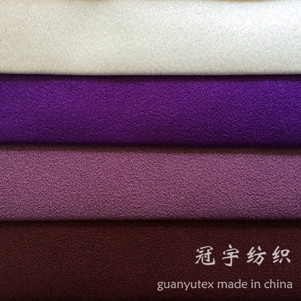 Decorative Leather 100% Polyester Suede Fabric for Furnitures Covers