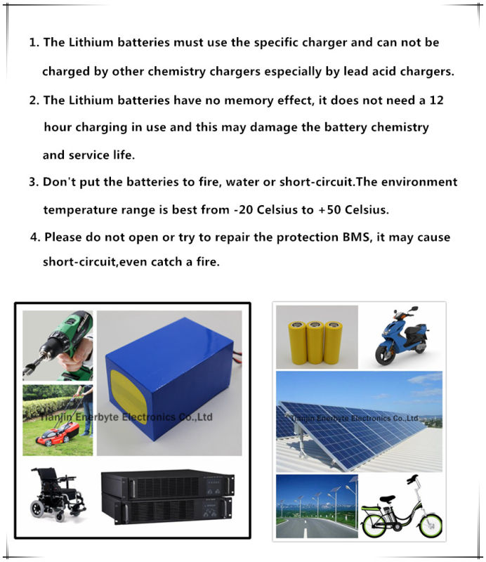 LiFePO4 Battery 24V 20ah for E-Scooter E-Bike E-Wheelchair