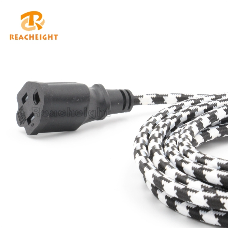 American Fabric Extension Cord