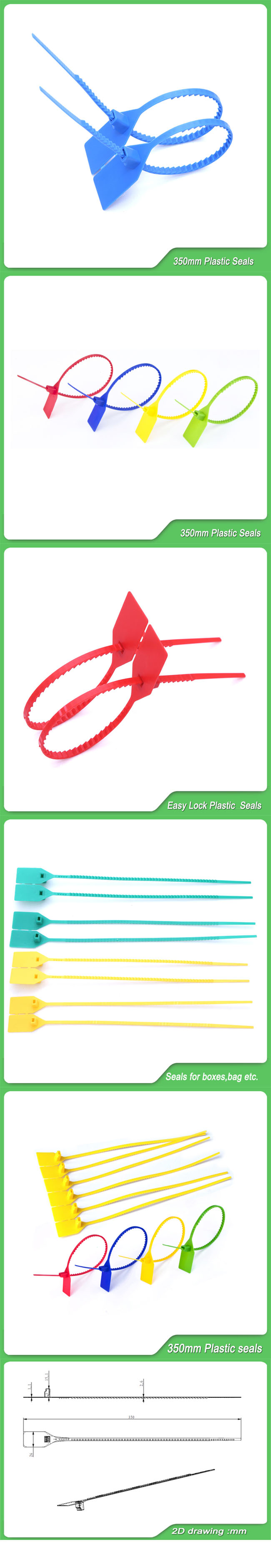 Bag Seal (JY-350) , Plastic Security Seal