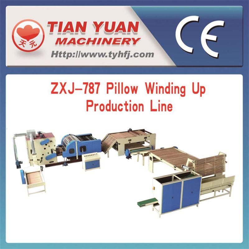 Automatic Pillow Rolling Production Line (ZXJ-787)
