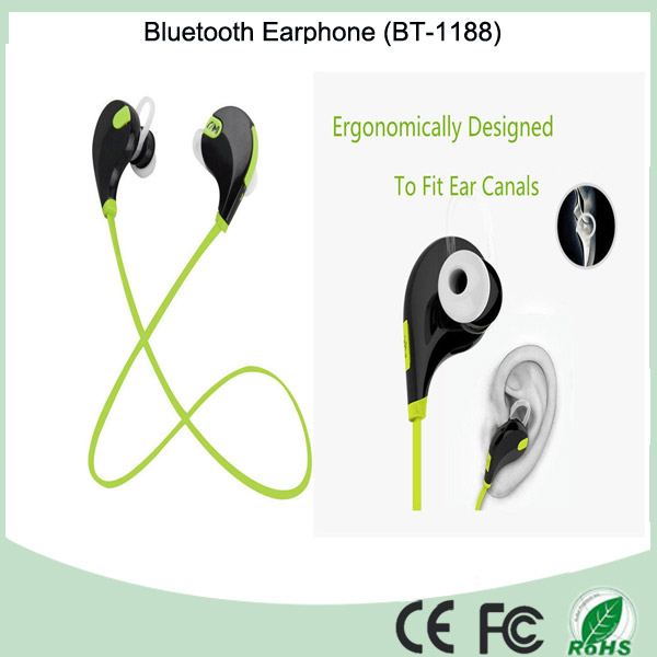 China Factory Price Bluetooth Earphone Sports with Microphone for iPhone (BT-1188)