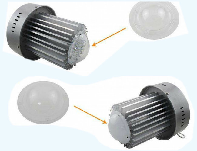 Ce RoHS LED High Bay Light 50W with Osram LEDs Meanwell Driver