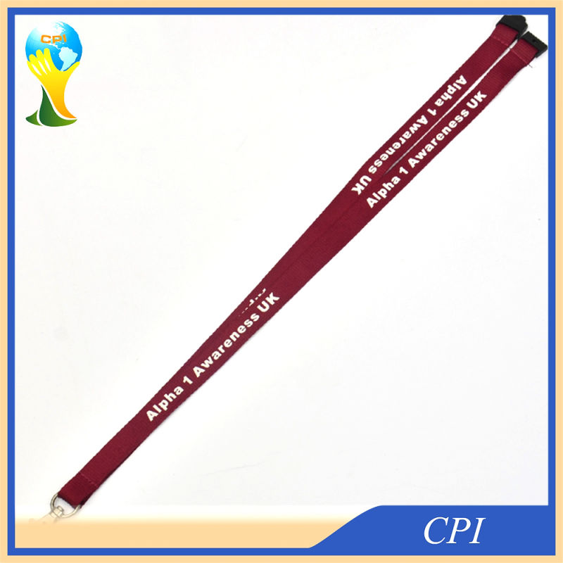 15mm Wine Red Lanyard Exported to UK