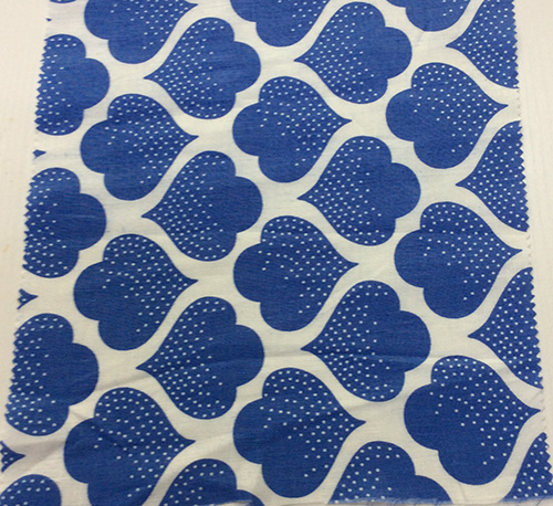 100% Linen Printed Garment Fabric, Home Textile Fabric