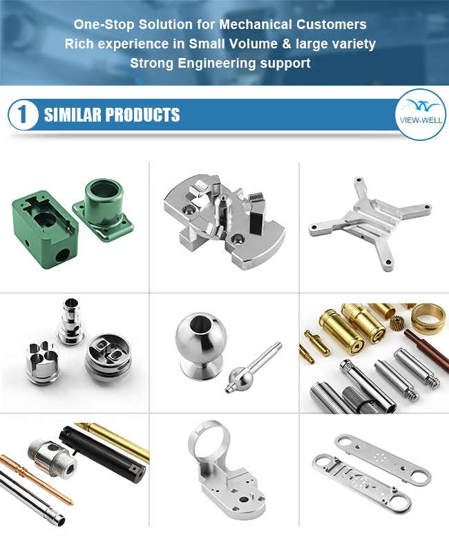 Custom Precision Sheet Metal Spare Car Auto Electric Turned Parts